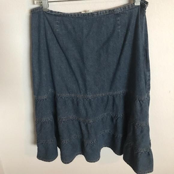 St. John's Bay Dresses & Skirts - St. John's Bay Denim skirt